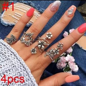 Jewelry - 🌷Spring Rings Set